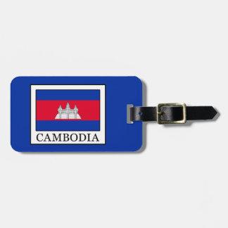 Cambodia Bag Tag
