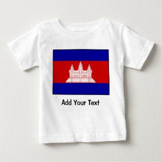 Cambodia – Cambodian Flag Baby T-Shirt