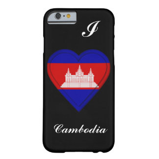 Cambodia Cambodian flag Barely There iPhone 6 Case