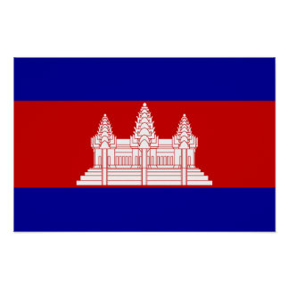 Cambodia – Cambodian Flag Posters