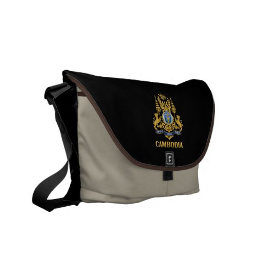 Cambodia Coat Of Arms Commuter Bags