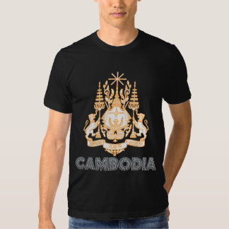 Cambodia Coat of Arms T Shirt