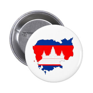cambodia country flag map shape silhouette symbol button
