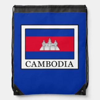 Cambodia Drawstring Bag