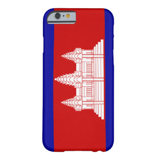 Cambodia Flag; Cambodian Barely There iPhone 6 Case