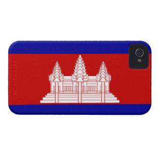 Cambodia Flag; Cambodian Case-Mate iPhone 4 Cases