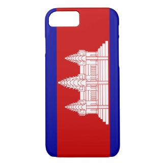Cambodia Flag; Cambodian iPhone 8/7 Case