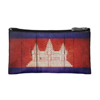 Cambodia Flag; Cambodian; Khmer Makeup Bag