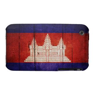 Cambodia Flag; Cambodian; Khmer iPhone 3 Cases