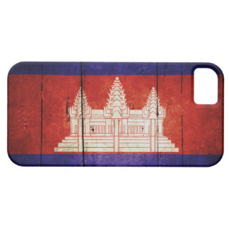 Cambodia Flag; Cambodian; Khmer iPhone 5 Covers
