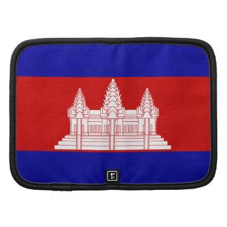 Cambodia Flag Cambodian Folio Planner