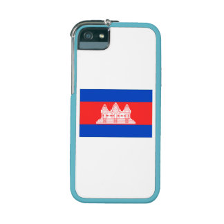 Cambodia Flag Case For iPhone 5/5S