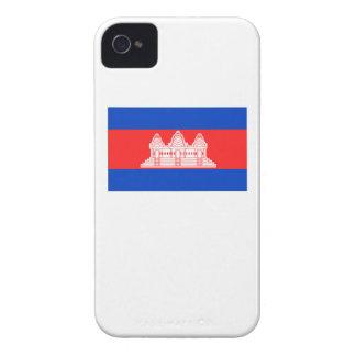 Cambodia Flag Case-Mate iPhone 4 Case