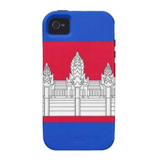 Cambodia Flag iPhone 4 Case