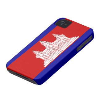 Cambodia Flag iPhone 4 Cases