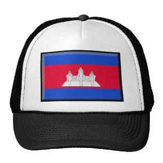 Cambodia Flag Hats