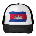 Cambodia Flag Hat