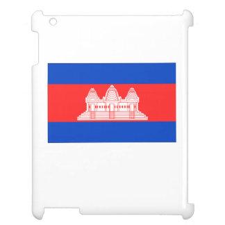 Cambodia Flag iPad Case
