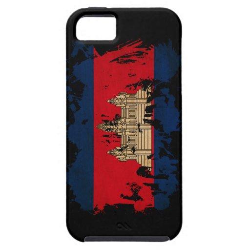 Cambodia Flag iPhone 5 Cases