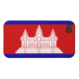Cambodia Flag Case For iPhone 4