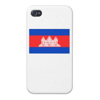 Cambodia Flag iPhone 4/4S Cover