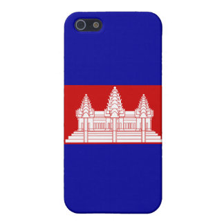 Cambodia Flag iPhone Cover For iPhone 5