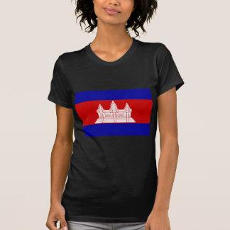Cambodia Flag KH T Shirt