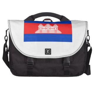 Cambodia Flag Commuter Bag