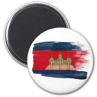 Cambodia Flag Magnets