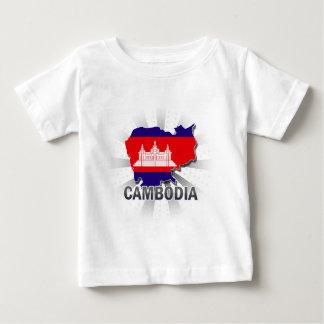 Cambodia Flag Map 2.0 Infant T-shirt