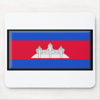 Cambodia Flag Mouse Pads