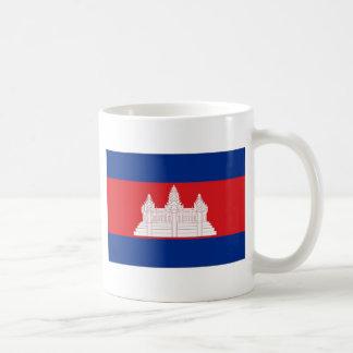 Cambodia Flag Mugs