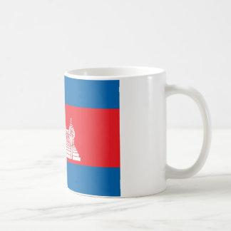 Cambodia Flag Coffee Mugs