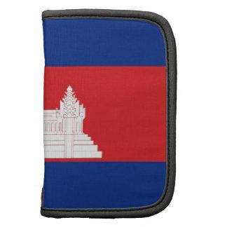 Cambodia Flag Folio Planners
