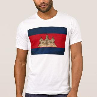 Cambodia Flag Tee Shirt