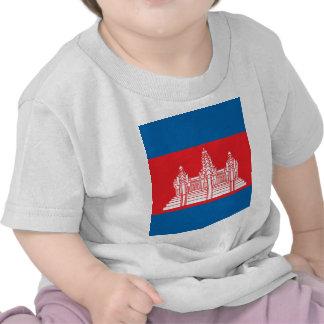 Cambodia High quality Flag Tshirts
