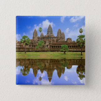 Cambodia, Kampuchea, Angkor Wat temple. Button