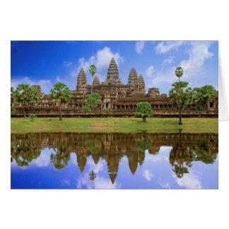 Cambodia, Kampuchea, Angkor Wat temple. Card