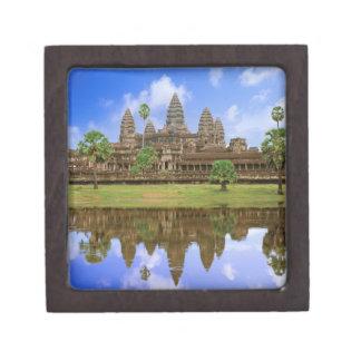 Cambodia, Kampuchea, Angkor Wat temple. Keepsake Box