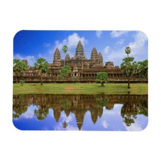 Cambodia, Kampuchea, Angkor Wat temple. Magnet