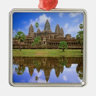 Cambodia, Kampuchea, Angkor Wat temple. Metal Ornament