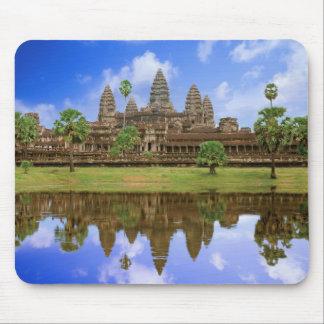 Cambodia, Kampuchea, Angkor Wat temple. Mouse Pad