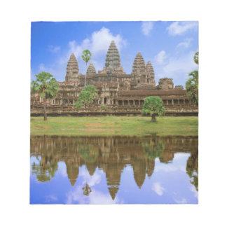 Cambodia, Kampuchea, Angkor Wat temple. Notepad