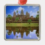 Cambodia, Kampuchea, Angkor Wat temple. Ornament