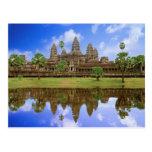 Cambodia, Kampuchea, Angkor Wat temple. Postcards