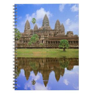 Cambodia, Kampuchea, Angkor Wat temple. Spiral Notebook