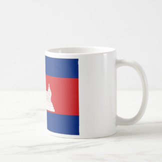 Cambodia National Flag Coffee Mugs