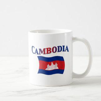 Cambodia National Flag Mugs