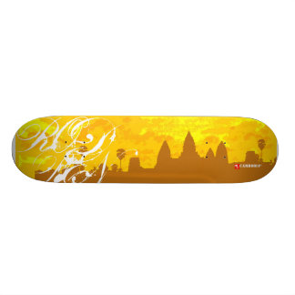 Cambodia : one skateboard deck