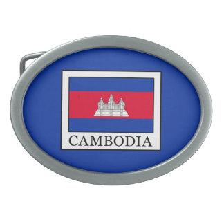 Cambodia Oval Belt Buckle